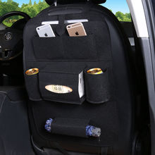 Car Accessories Seat Bag Felt Covers Storage Multi Pocket Organizer Universal Back