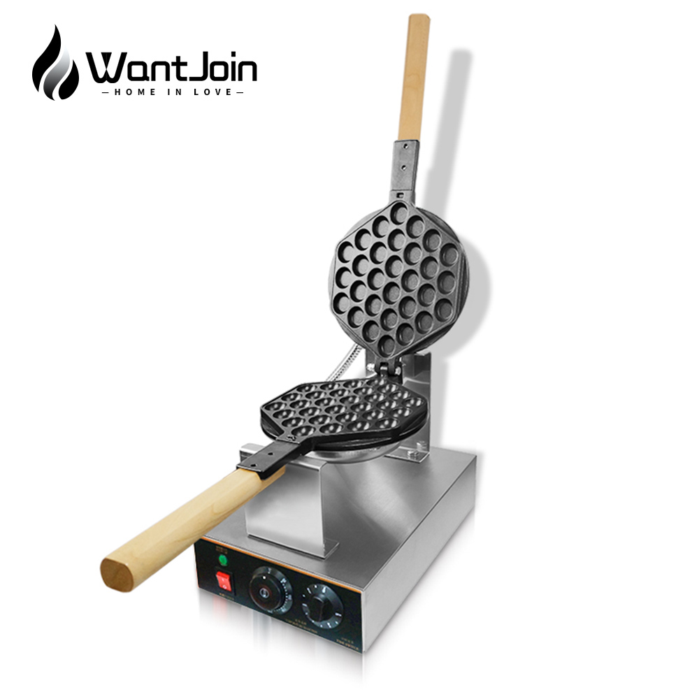 WantJoin Bubble Waffle Maker Pancake Electric Egg Waffle Machine Pan Cake Maker Bubble Waffles Sandwich Machine CE Free Shipping|Waffle Makers|   - AliExpress
