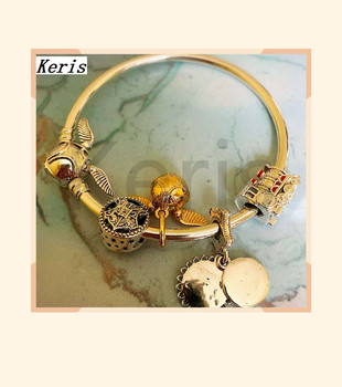 High Quality Original 1:1 100% Silver Gold Bead Train String Bracelet With Free Package