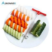 Vegetables Spiral Knife Potato Carrot Cucumber Salad Chopper Screw Slicer Cutter Spiralizer Kitchen Tools Accessories