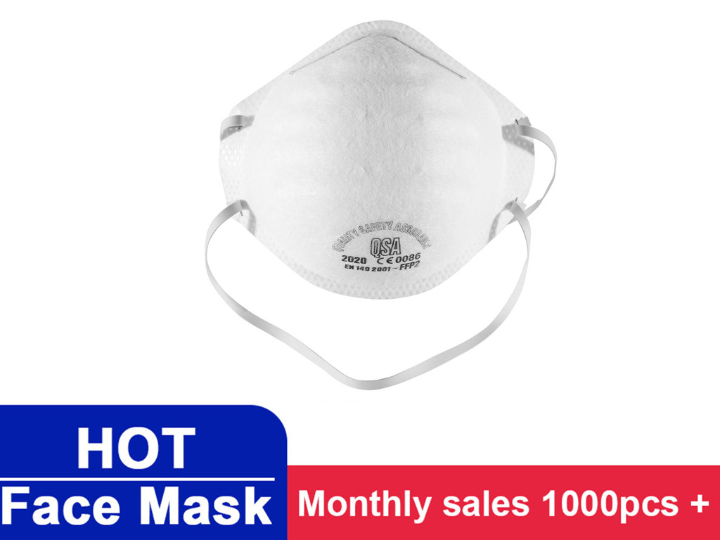 In Stock! Disposable Mouth Mask 3-Ply Anti-Dust FFP3 FFP2 FFP1 KN95 Nonwoven Elastic Earloop Salon Mouth Face Mascaras Maschere