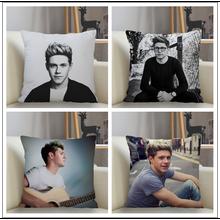 Musife Niall Horan Pillowcase Custom Square Pillow Cover Case Zipper Pillowcase 35 35 40 40 45