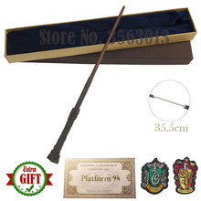 Toys Wands Dumbledore Malfoy Snape Voldmort Ticket-Badge Cosplay as 20 Metal 35-42cm