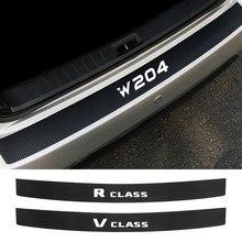 Auto Achterbumper Scuff Sill Sticker Voor Mercedes Benz W124 W203 W204 Ml Citan R Klasse Sprinter V Klasse Viano vito Accessoires