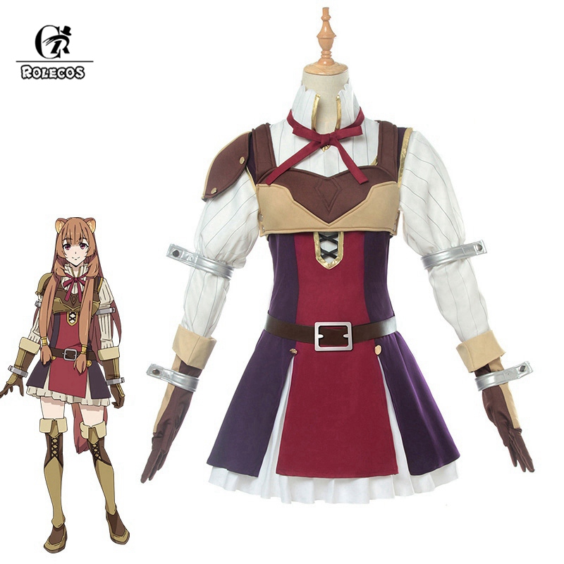 ROLECOS Raphtalia Cosplay The Rising Of The Shield Hero Cosplay Costume Anime Costume Tate No Yuusha No Nariagari Women Party