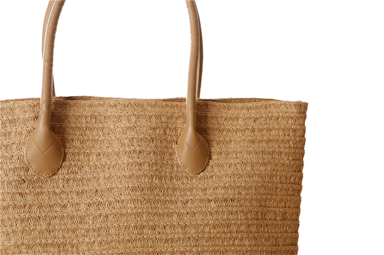 Large Sized Straw Travel Bags