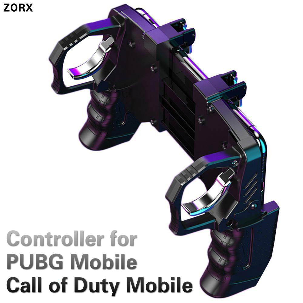 Game Handle PUGB Helper L1R1 Trigger Linkage Call of Duty Fast Shooting Button Controller For PUBG Mobile For IOS Android COD image