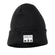 Bluetooth 4.2 Music Hat Winter Wireless Bluetooth Headset Hat Knitted Cap Headphone Warm Winter Hats Earphone Best Gift(China)