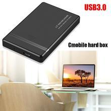 Boîtier de disque dur 2.5 pouces HDD SSD boîtier de disque dur 480Mbps USB2.0/USB3.0/TYPE C boîtier externe Mobile pour ordinateur portable