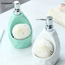 650ml סבון Dispenser גדול קיבולת לכלי אמבטיה קרמיקה בקבוק קרם ג ל רחצת בקבוק Sanitizer יד בקבוק חומר ניקוי בקבוק