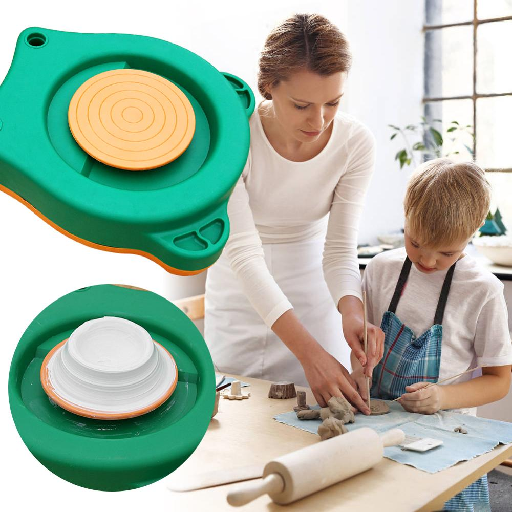 1 Set Art travail céramique argile pied pédale pour le travail de la céramique vitesse réglable poterie Machine à dessin, Machine de poterie pour enfants