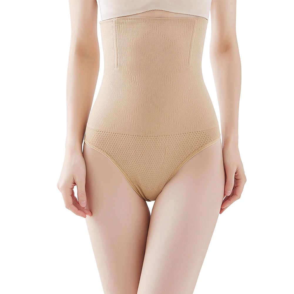 Женское утягивающее белье, пояс для женщин, контроль живота, одежда для шейпинга с высокой талией, тренажер для живота, очаровательное нейлоновое нижнее белье для похудения