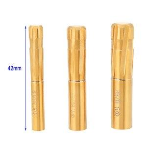 6 flöten Nuten Spirale Reibahle Rifling Tasten 5,81-9,35mm Push-Doppel Schicht Klinge Reibahle für Gezogen Barrel Maschine werkzeug Reibahle