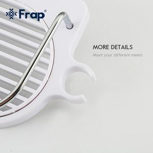 Image 3 - FRAP 욕실 선반 벽 마운트 목욕 홀더 랙 목욕 하드웨어 액세서리 욕실 교수형 스토리지 랙