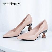 Sophitina/Женская обувь; Модные повседневные женские туфли лодочки