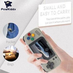 Image 2 - Powkiddy Q70 açık sistem Video oyunu konsolu Retro el, 2.4 inç ekran taşınabilir çocuk oyun oyuncuları 16GB hafıza kartı