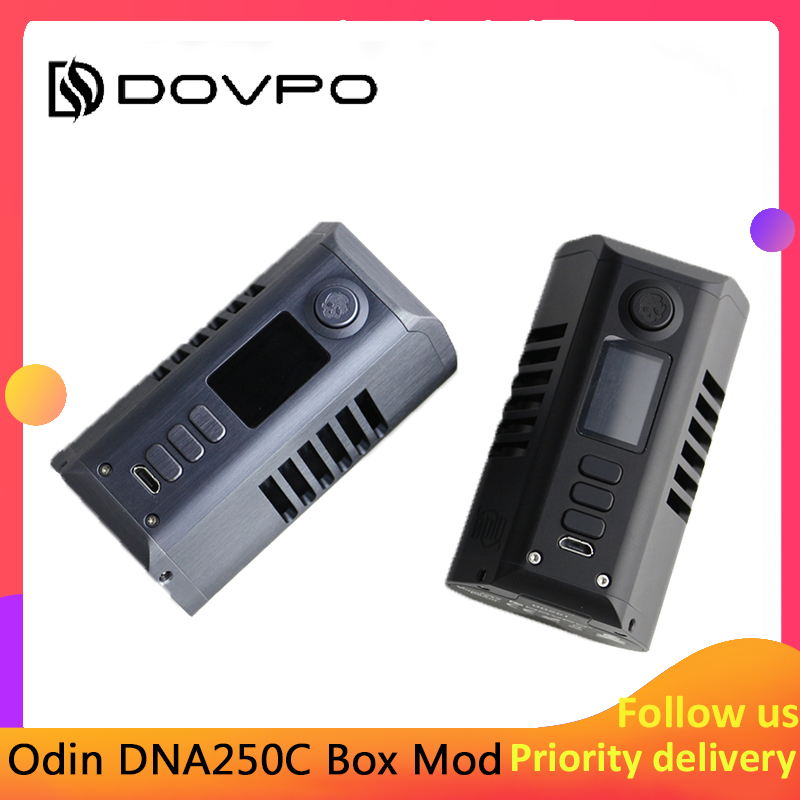 Pre-order New Design Dovpo Odin DNA250C Box Mod Powered By Dual 21700 Batteries Fit Atomizer 510 Thread Vape Tank  E-cig Mod
