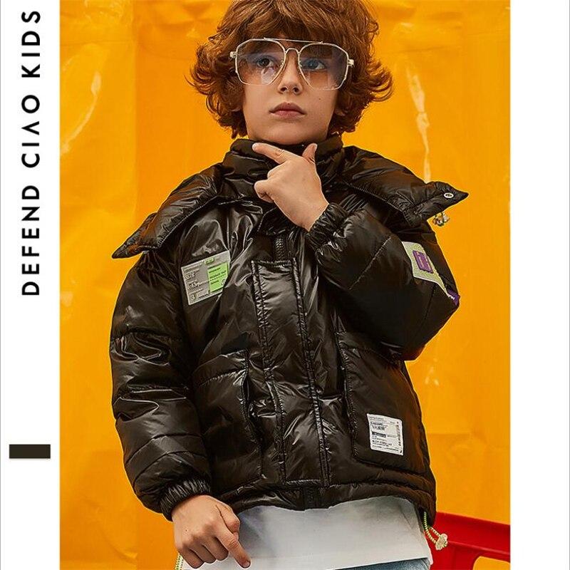 2019 mode coréenne imperméable enfants hiver ski manteau chaud vers le bas veste vêtements de sport pour enfants vestes à capuche garçons vêtements de plein air