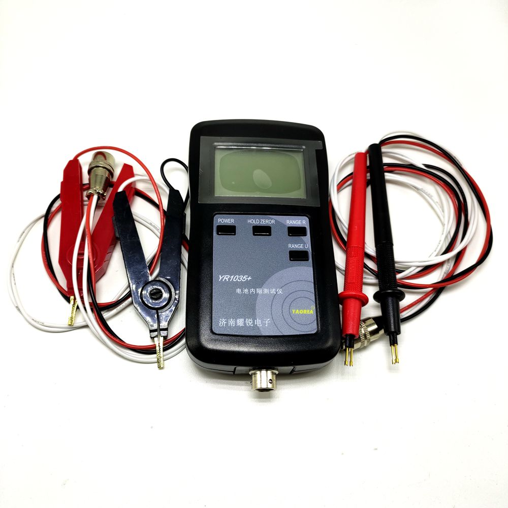 Image 3 - Original high precision fast YR1035 lithium battery internal resistance test instrument 100V electric vehicle group 18650-in Tool Parts from Tools