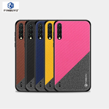 PINWUYO For Xiaomi Mi CC9 Cover Hard PC + Soft Back Cases Full Protective Phone