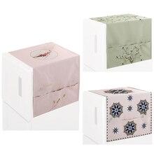 Storage-Box Refrigerator-Cover Washing-Machine Drum Linen And Single-Door Cotton