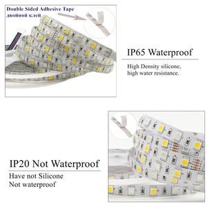 Image 2 - 1 סט SMD 5050 RGB RGBW 300LED 12V IP20 IP65 Waterproof LED רצועת 5m 10m 15m 20m 25m 30m גמיש רצועת קלטת חבל סרטי ערכת