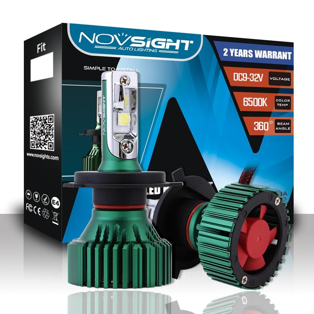 Nighteye Car LED Headlight Kit 9005//9006//H1//H4//H7//H11 50W 8000LM Fog Light Bulbs