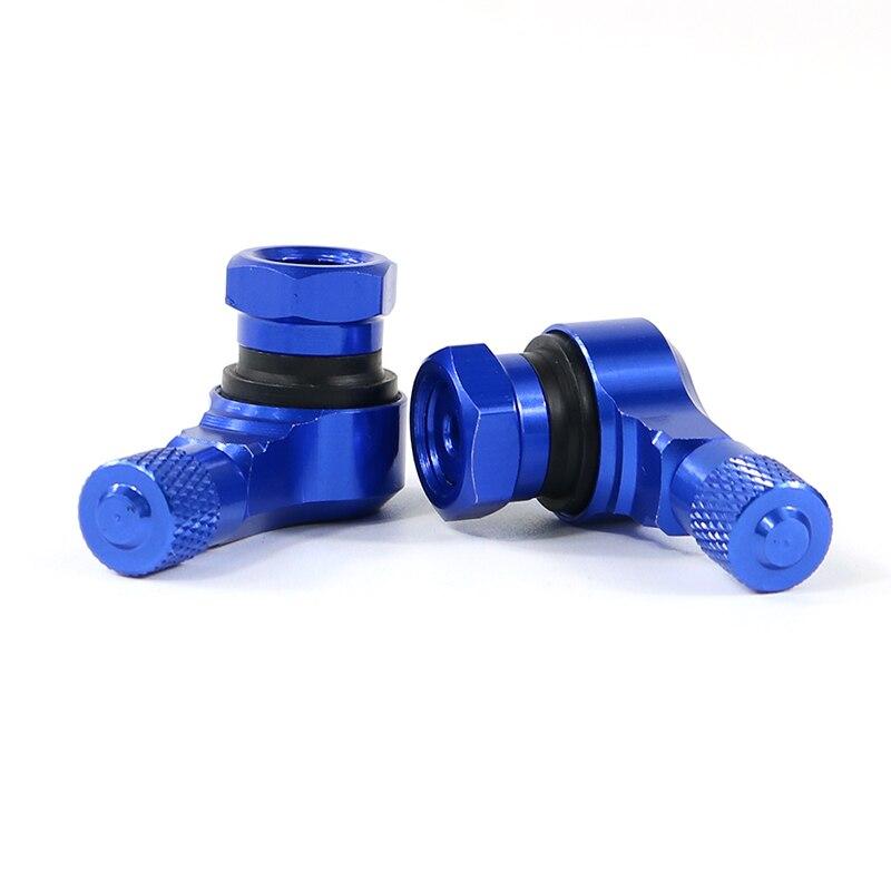 Для BMW S1000RR S1000R S1000XR HP4 R1200RS G310R мотоцикл 2 шт. алюминиевые шины клапан Стебли бескамерные клапаны 11,3 мм - Цвет: blue
