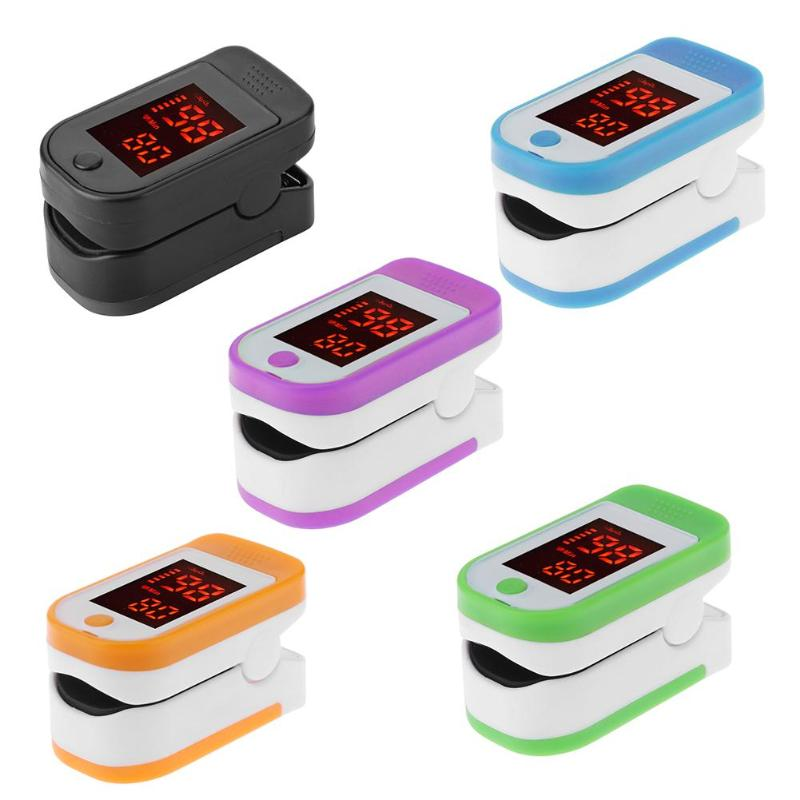 Finger Pulse Oxygen Saturation Monitor Blood Oximeter Blood Pressure Meter Heart Rate Detector Health Care Tool