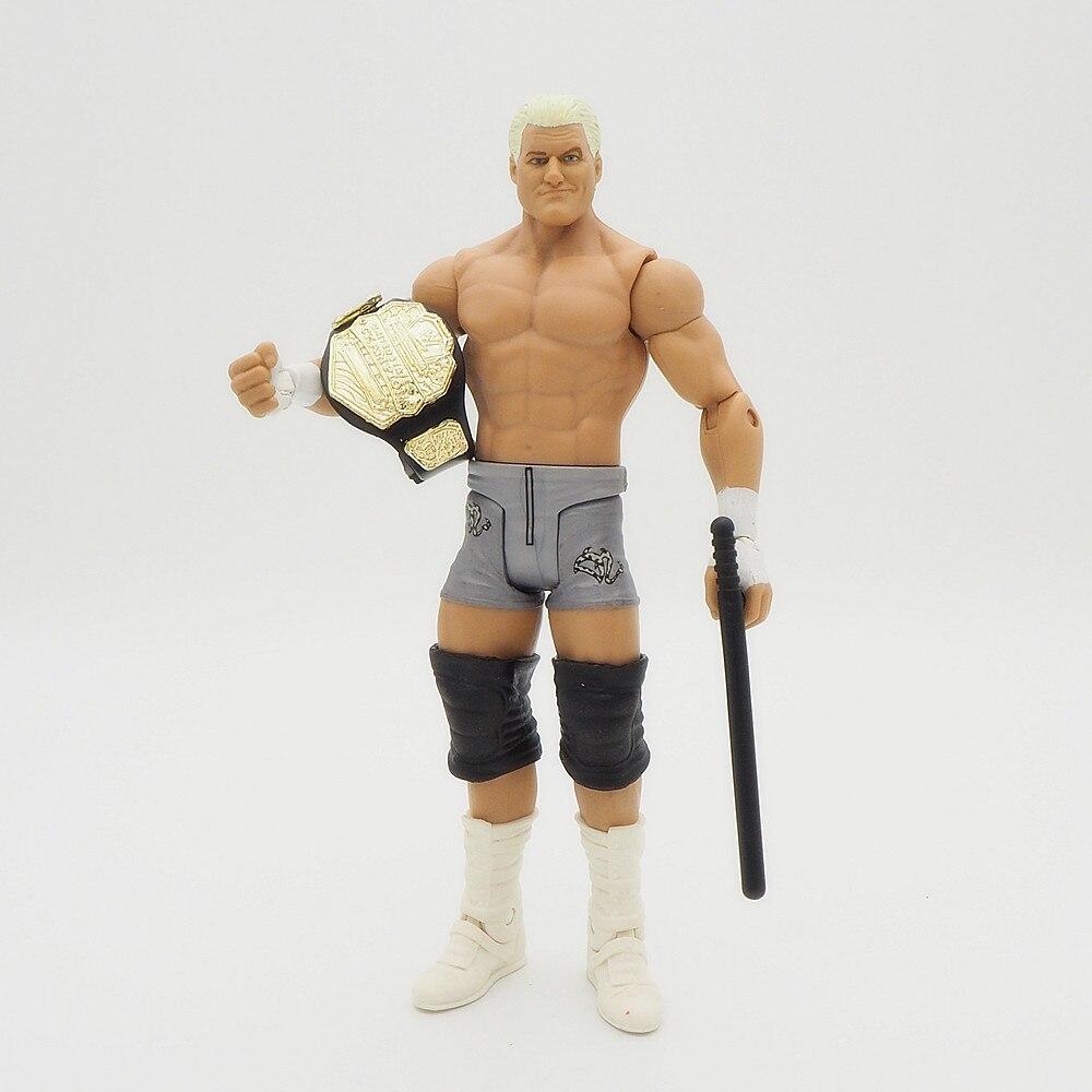 Wrestling gladiators Action figures Wrestler SuperHeroe Kids Gift Toys Dolph Ziggler Belt 6inch