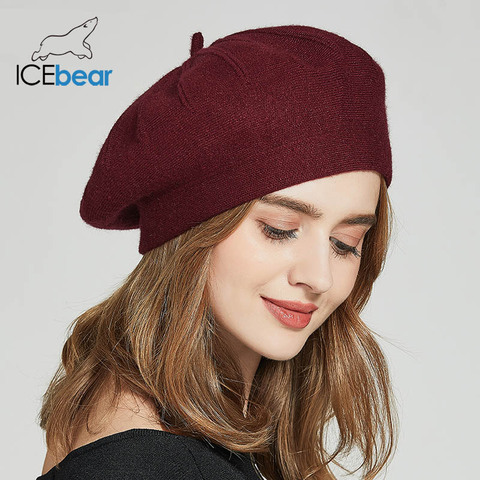 ICEbear Winter Hats For Women Autumn Knitted Wool Painter Caps New Fashion Solid Color  For Lady E-MX18133 Islamabad