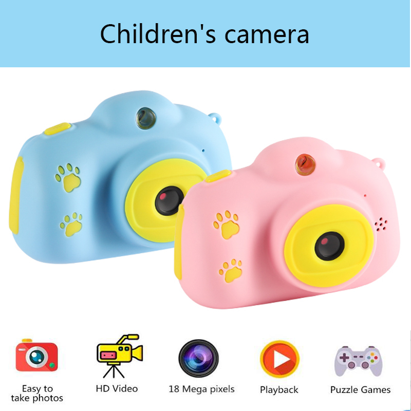 Children's Digital Camera Toys for Kids Birthday Gifts Mini 1080P Projection Video Cameras Baby Girls Boys Christmas Gift