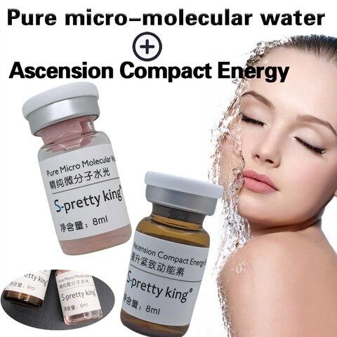o acido hialuronico do grupo do rejuvenescimento da pele facial para clarear remove enrugamentos acne
