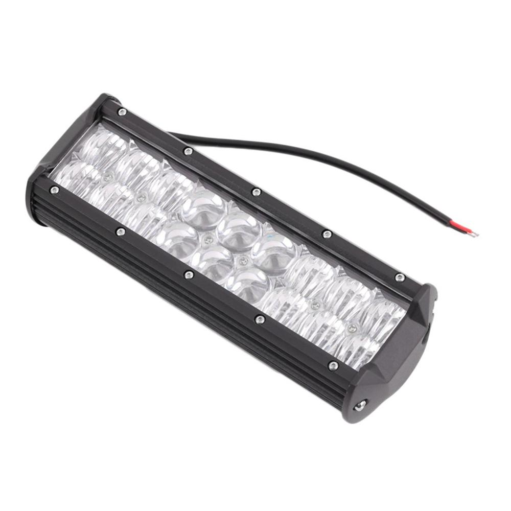 54W 5D Flood & Spot LED Working Light Spotlight LED Light Bar For Car Auto image