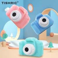 Mini HD Bildschirm Chargable Kinder Kamera Cartoon Nette Kinder Digital Kamera Spielzeug Unterstützt TF Karte für Kind Geburtstag Geschenk