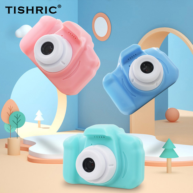 Mini HD Screen Chargable Children Camera Cartoon Cute Kids Digital Camera Toy Supported TF Card for Child Birthday Gift