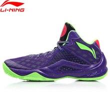 (كسر رمز) لي نينغ الرجال الكل في فريق 4 واد كرة سلة للمحترفين الأحذية وسادة بطانة لي نينغ سحابة أحذية رياضية ABAM013 XYL290