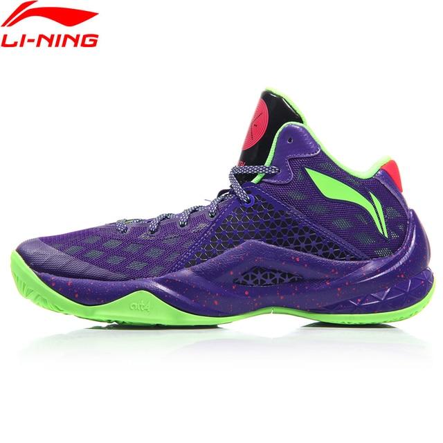 (Break Code) li Ning Menทั้งหมดทีม 4 Wade Professionalรองเท้าบาสเก็ตบอลเบาะซับLi Ning CLOUDกีฬารองเท้าABAM013 XYL290