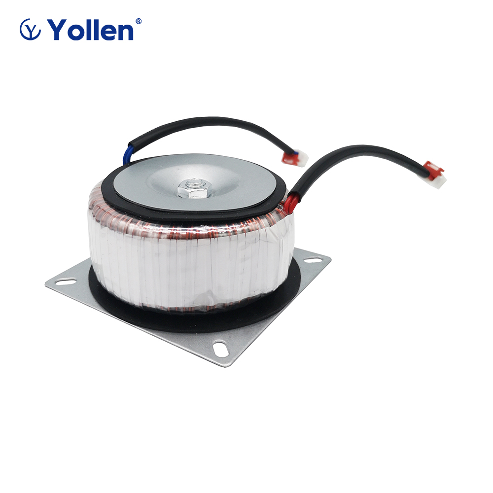 RING TYPE 30W Toroidal POWER TRANSFORMER <font><b>30VA</b></font> CIRCLE VOLTAGE CAN OEM 220V/380V to 6V/9V/12V/15V/18V/24V Face mask machine custom image