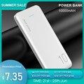 FLOVEME Power Bank 10000 mAh Tragbare Ladegerät Für Samsung Xiaomi mi Mobile Externe Batterie Power 10000 mAh Poverbank Telefon