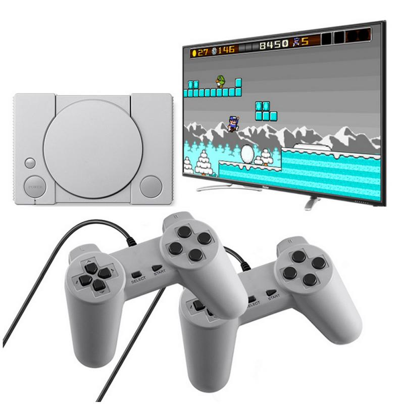 Mini Retro Video Games Console Classic 620 Built-in Games 2 Controllers Kid Gift
