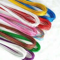 Materiales de flores de malla 22 #24 # Flor de nailon calcetín cables de hierro Accesorios cables de hierro seda flor materiales largo 80cm 80 pzas/lote S