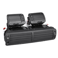 Front Dashboard Left + Right + Central Vent a / C Heater Air Conditioning Vent for Volkswagen Passat B5 1997 1998 1999 2000 2001