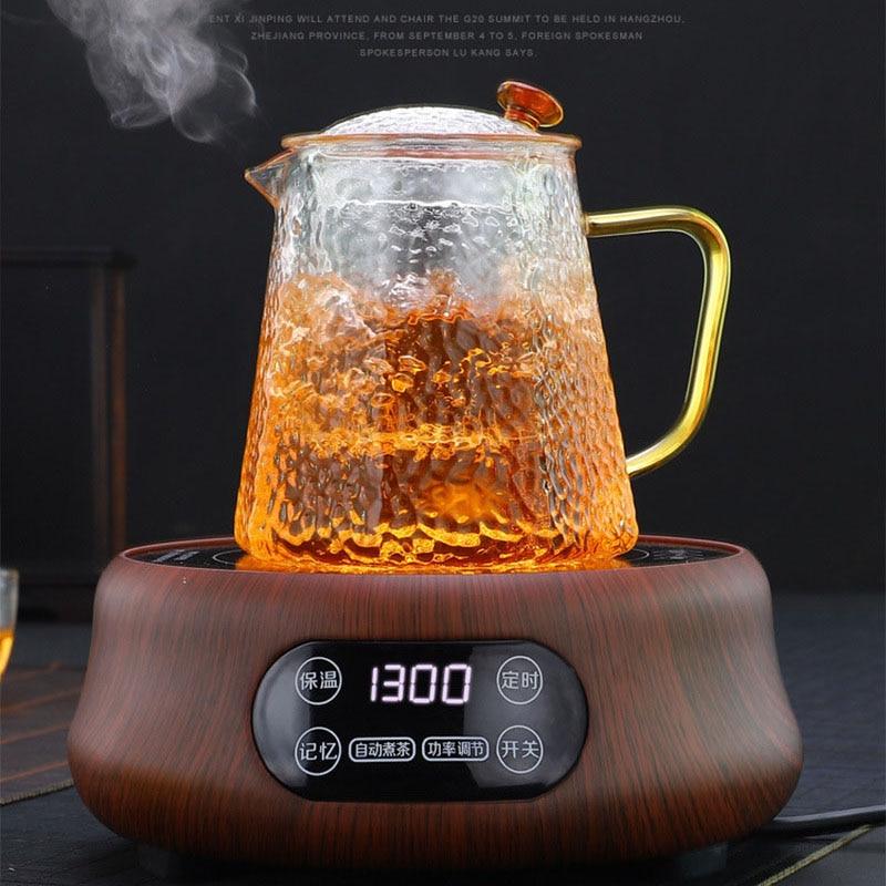 110 V/220 V électrique chauffage poêle cuisinière chaude plaque lait eau café thé chauffage four multifonctionnel appareil de cuisine 1300W - 4
