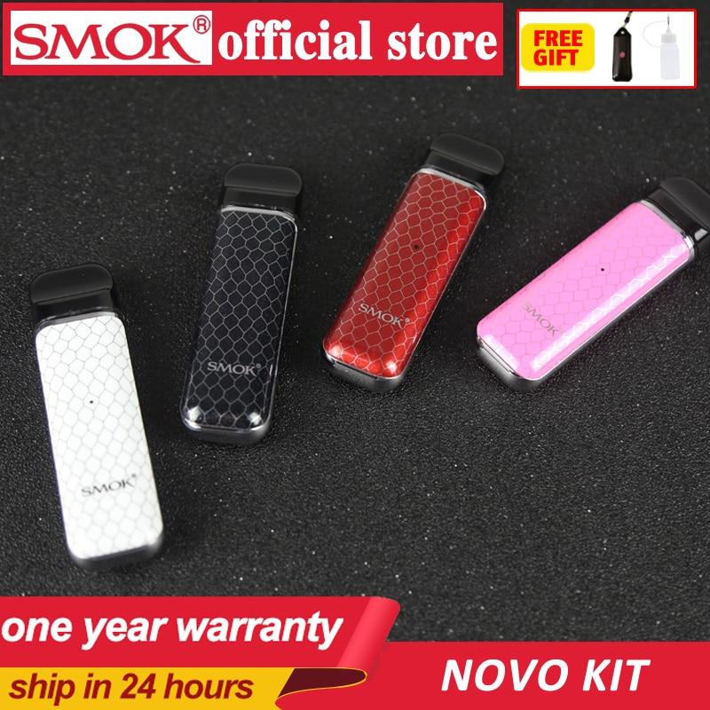 Novo estoque kit starter kit pod SMOK SMOK novo cobra 2 coberto caneta vape kit com 450mAh bateria interna ml de capacidade kit sistema pod