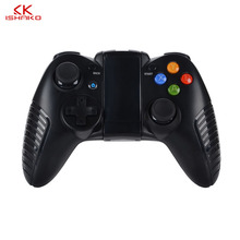 K ISHAKO For Android Apple Game Controller Wireless Bluetooth Handle for and Mobile Phone Support with Coca