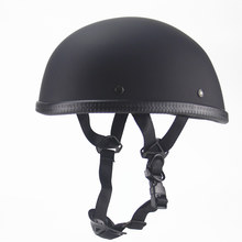 Capacete vintage para moto, capacete meia face retro, cruiser, chopper