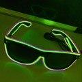 Светящиеся солнцезащитные очки со светодиодной подсветкой, модные неоновые светящиеся очки для костюма рейвы, яркие солнцезащитные очки д...