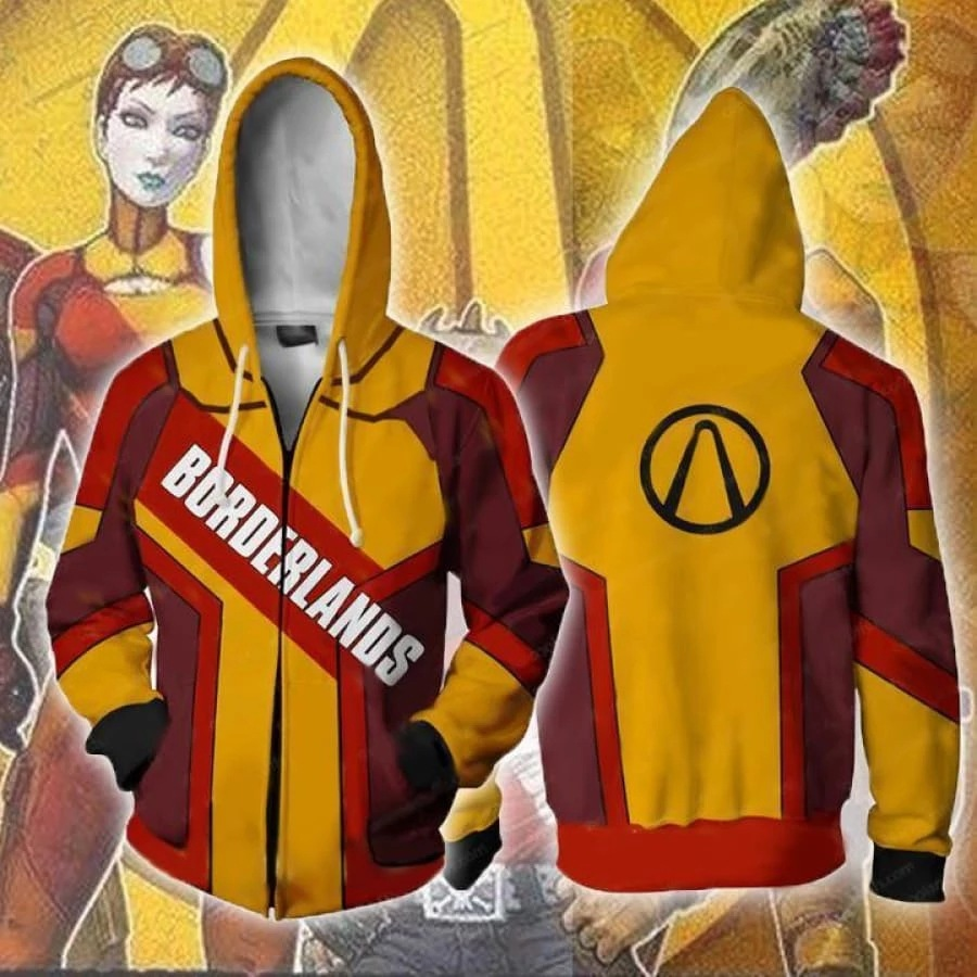 Game <font><b>Borderlands</b></font> 3 Assassin Zer0 Hoodies Sweatshirts Cosplay Costumes 3D printed fashion men women <font><b>Borderlands</b></font> hooded jacket Top image