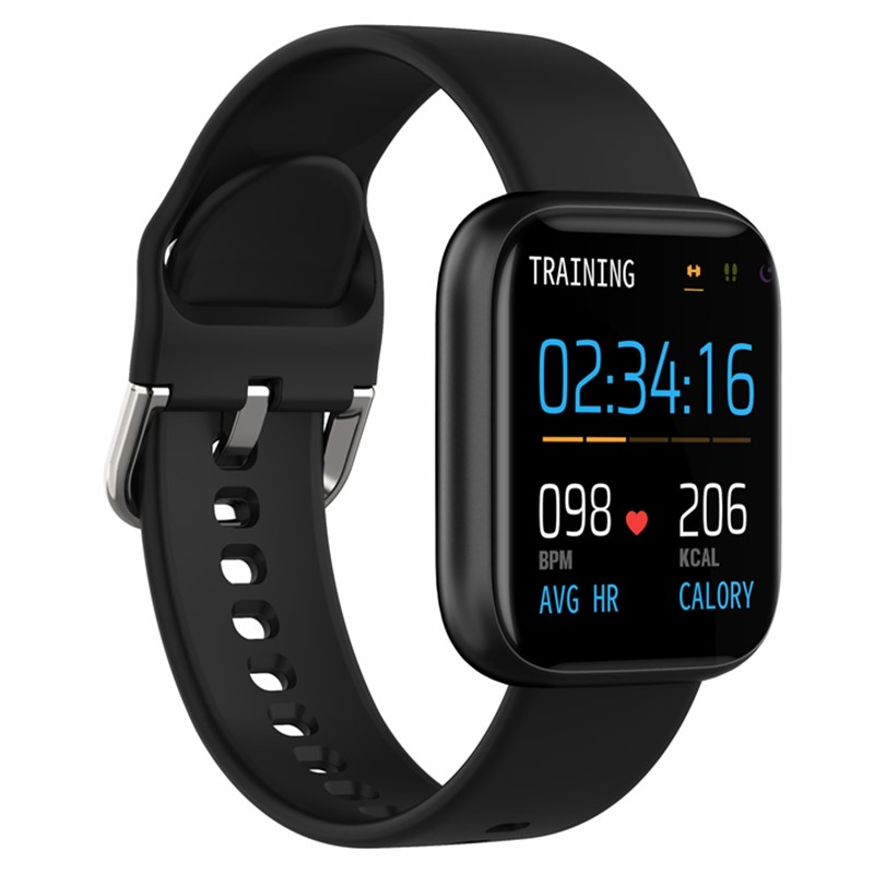 P6 Smart Watch Women Men <font><b>SmartWatch</b></font> 1.4 Inch Full Touch Screen Heart Rate Monitor IP67 Waterproof Fitness Tracker PK B57 <font><b>P70</b></font> P80 image